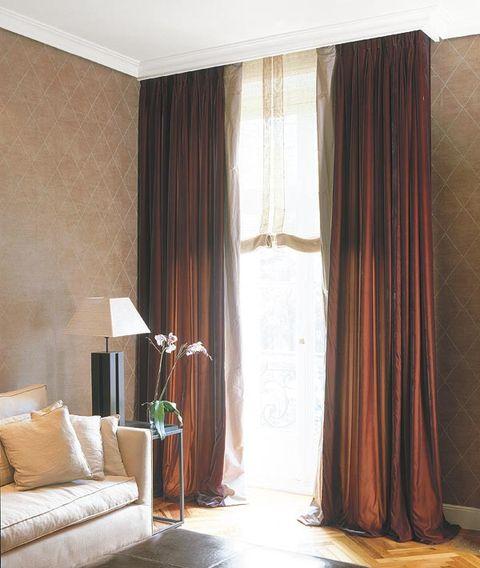 Cortinas y estores para cada tipo de ventana - Estor con cortina ...
