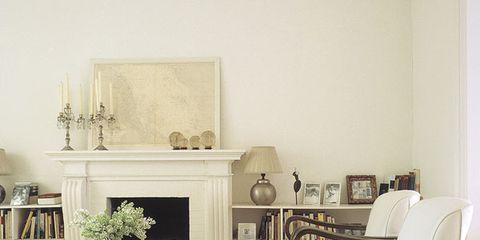 Room, Floor, Interior design, Wall, Flooring, Home, Living room, Interior design, Grey, Beige,