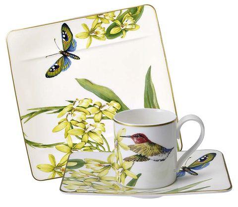 Serveware, Cup, Dishware, Drinkware, Invertebrate, Insect, Arthropod, Porcelain, Pollinator, Butterfly,