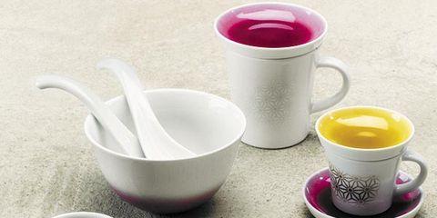 Serveware, Cup, Drinkware, Dishware, Tableware, Teacup, Coffee cup, Porcelain, Drink, Pink,