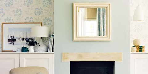 Room, Interior design, Green, Home, Living room, White, Wall, Furniture, Floor, Interior design,