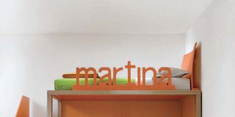 Wood, Room, Interior design, Floor, Wall, Bed, Orange, Bedroom, Flooring, Bedding,