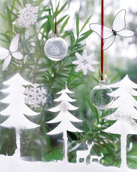 White, Pattern, Botany, Art, Terrestrial plant, Design, Illustration, Evergreen, Conifer, Silver,