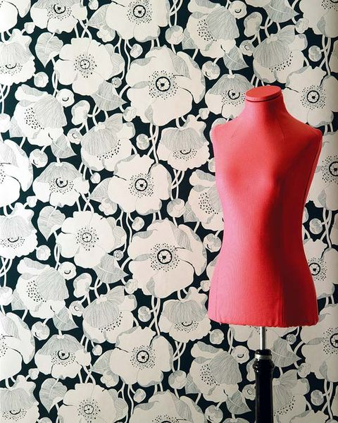 Pattern, Dress, Petal, Art, One-piece garment, Day dress, Mannequin, Design, Illustration, Floral design,