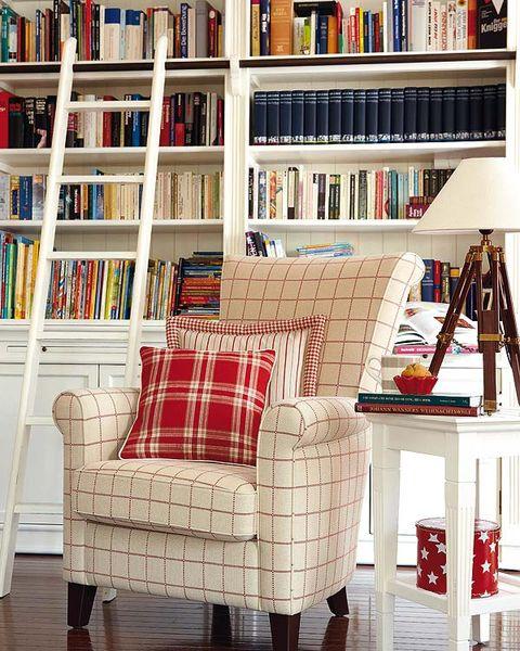 Room, Wood, Interior design, Shelf, Floor, Shelving, Furniture, Publication, Bookcase, Flooring,