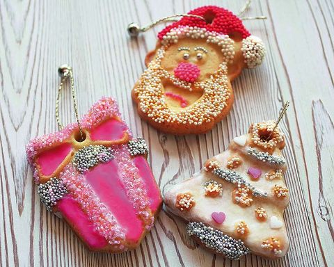 Pink, Magenta, Finger food, Baked goods, Dessert, Toy, Glitter, Snack, Petit four, Confectionery,