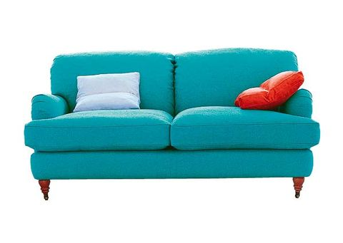 Blue, Green, Furniture, Turquoise, Couch, Teal, Cushion, Aqua, Pillow, Living room,