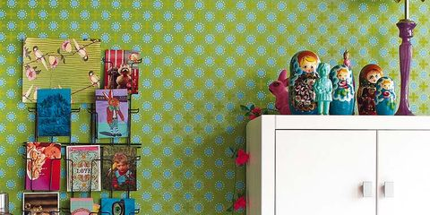 Room, Cabinetry, Magenta, Drawer, Teal, Turquoise, Chest of drawers, Toy, Creative arts, Sideboard,