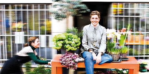 Plant, Flowerpot, Street fashion, Floristry, Spring, Houseplant, Flower Arranging, Boot, Floral design, Annual plant,