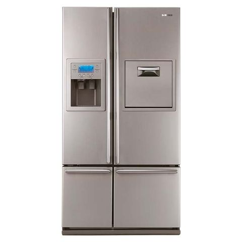 Product, Major appliance, White, Home appliance, Machine, Freezer, Gas, Silver, Kitchen appliance, Aluminium,