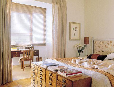 Interior design, Room, Wood, Textile, Furniture, Tablecloth, Window covering, Interior design, Window treatment, Linens,