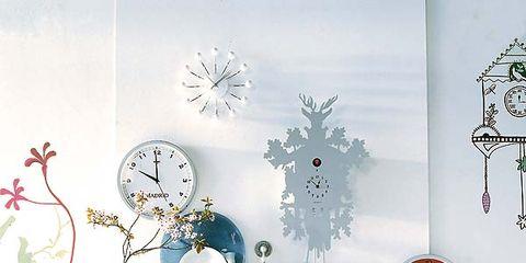 Art, Interior design, Creative arts, Teal, Twig, Craft, Wall clock, Pedicel, Christmas decoration, Ornament,