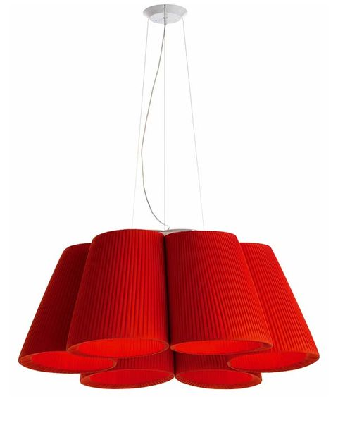 Product, Lampshade, Red, Lighting accessory, Lamp, Light, Light fixture, Carmine, Home accessories, Rectangle,