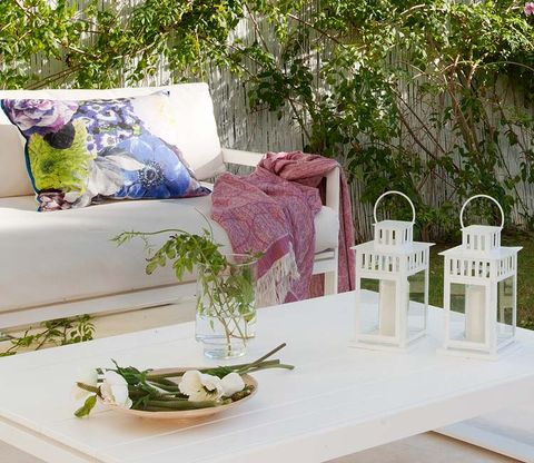 Green, Furniture, Grass, Room, Interior design, Garden, Design, Table, Plant, House,