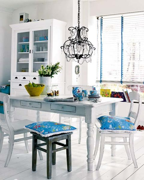 Blue, Room, Interior design, Green, Furniture, Table, Turquoise, Aqua, Teal, Interior design,