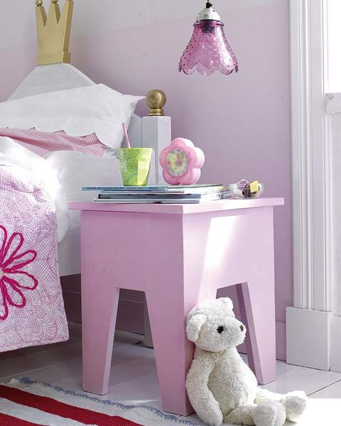 Room, Stuffed toy, Pink, Purple, Lavender, Toy, Magenta, Plush, Interior design, Grey,