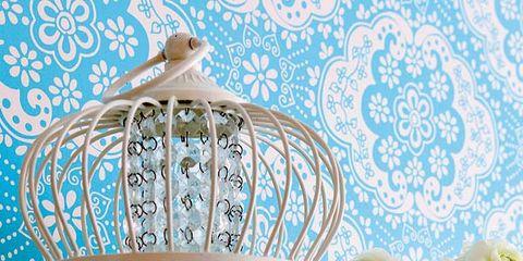 Serveware, Cage, Teal, Aqua, Turquoise, Porcelain, Dishware, Pet supply, Vase, Creative arts,