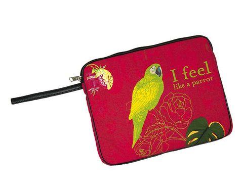 Bird, Red, Beak, Adaptation, Feather, Rectangle, Wing, Parrot, Linens,