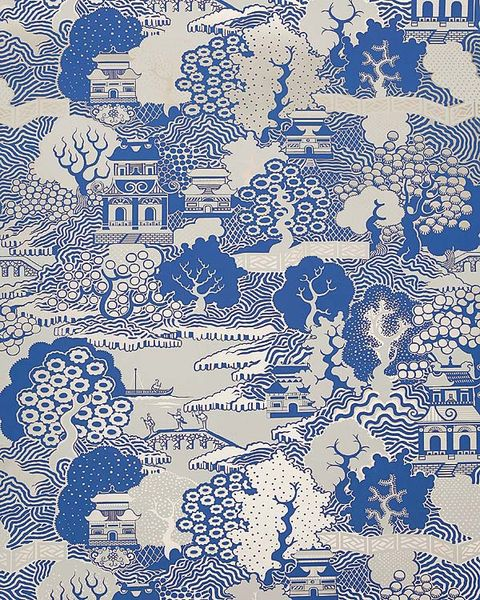 Blue, Pattern, Electric blue, Majorelle blue, Printmaking, Doodle, Illustration, Visual arts, Painting, Drawing,