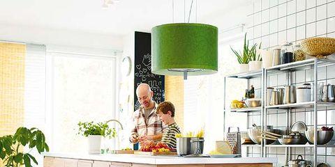 Room, Interior design, Flooring, Floor, Shelving, Countertop, Interior design, Shelf, Houseplant, Kitchen,