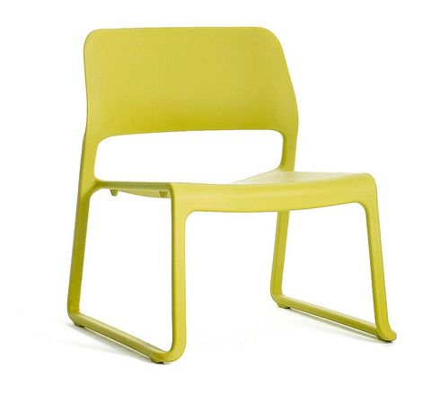 Yellow, Green, Line, Chair, Parallel, Plastic, Material property, Armrest,