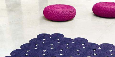 Blue, Textile, Pattern, Purple, Magenta, Violet, Cobalt blue, Electric blue, Wool, Woolen,