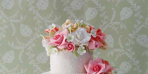 Sweetness, Cuisine, Cake, Food, Petal, Dessert, Baked goods, Ingredient, Cake decorating, Pink,