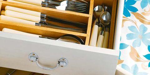 Beige, Kitchen utensil, Shelving, Brush, Cutlery, Makeup brushes,