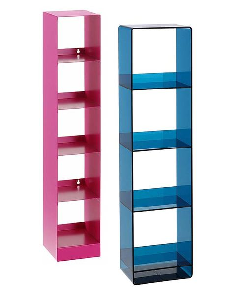 Magenta, Rectangle, Colorfulness, Parallel, Electric blue, Maroon, Shelving, Square,