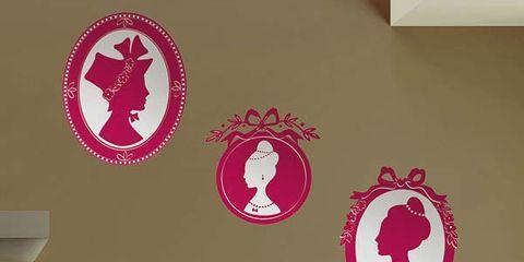 Wall, Interior design, Wall sticker, Carmine, Symbol, Design, Paper, Sticker,