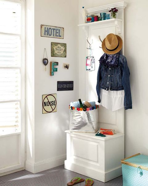 Hat, Room, Interior design, Sun hat, Teal, Fedora, Home accessories, Cowboy hat, Shelving, Shelf,
