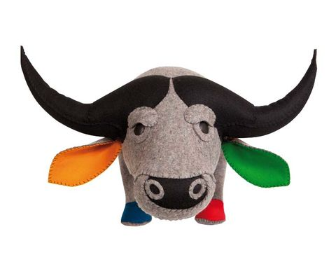 Horn, Terrestrial animal, Bovine, Animal figure, Snout, Working animal, Graphics, Natural material, Illustration, Toy,