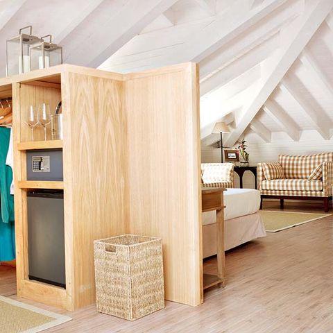 Wood, Room, Floor, Flooring, Interior design, Hardwood, Wall, Ceiling, Shelf, Shelving,