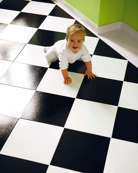 Human, Floor, Flooring, Tile, Child, Baby & toddler clothing, Toddler, Tile flooring, Square, Foot,