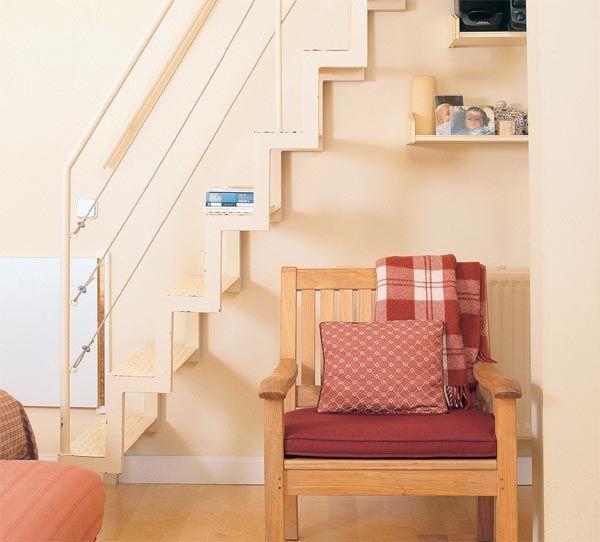 Ocho ideas para reformar la escalera for Escaleras tipo barco