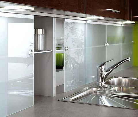 Glass, Floor, Ceiling, Fixture, Transparent material, Aluminium, Handle, Design, Plumbing fixture, Kitchen utensil,