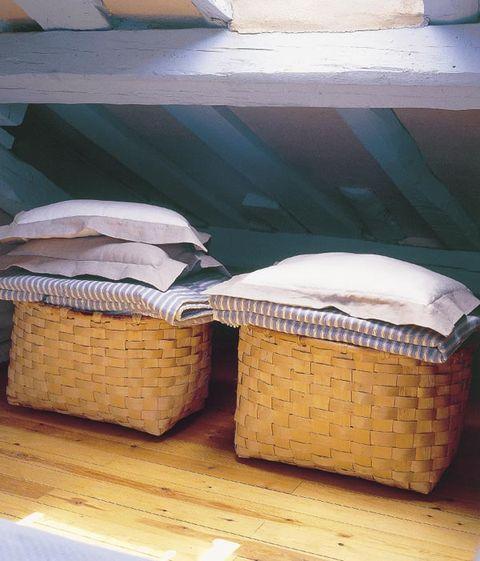 cestas para la ropa de cama