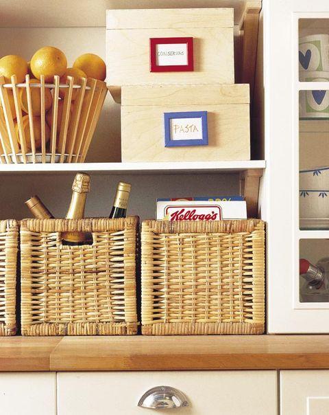 cestas en la cocina