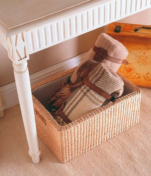 Beige, Home accessories, Wicker, Infant bed, Peach, Linens, Bed frame, Basket, Baby Products, Storage basket,
