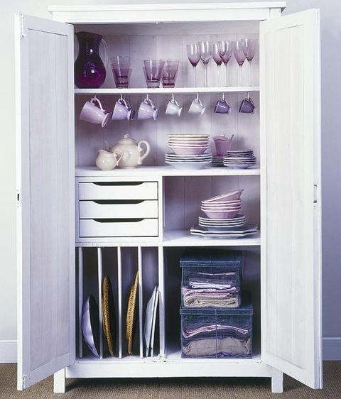 Shelf, Shelving, Purple, Lavender, Collection, Display case, Violet, Cupboard, Hutch, Closet,