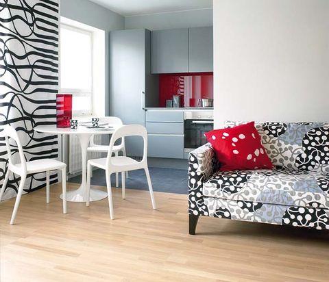 Wood, Interior design, Room, Floor, Flooring, Furniture, Wall, White, Wood flooring, Living room,