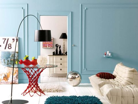 Room, Interior design, Wall, Furniture, Teal, Interior design, Home, Turquoise, Grey, Home accessories,