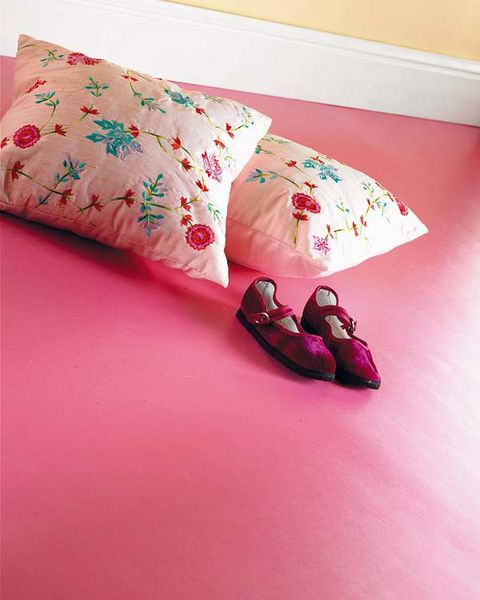 Pink, Bed sheet, Pillow, Textile, Bedding, Linens, Cushion, Furniture, Room, Quilt,