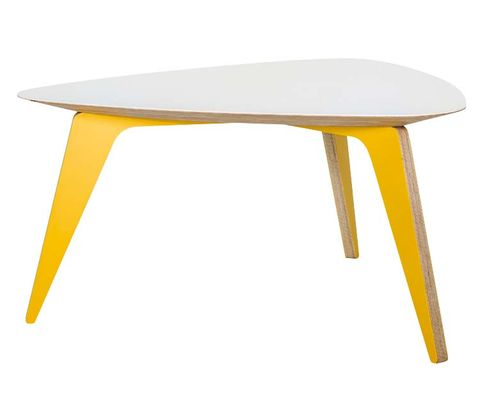 Yellow, Table, Furniture, Line, Tan, Rectangle, Grey, Beige, End table, Material property,