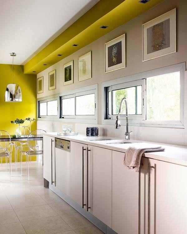 Pon color en la cocina
