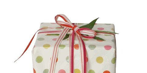 Product, Peach, Pattern, Ribbon, Present, Knot, Gift wrapping, Party supply, Party favor, Wedding favors,