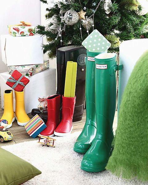 Green, Boot, Riding boot, Rain boot, Carmine, Costume accessory, Interior design, Christmas decoration, Flower Arranging, Cowboy boot,