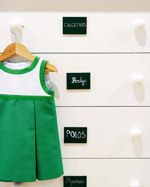Product, Green, Sleeve, Collar, White, Pattern, Clothes hanger, Baby & toddler clothing, Chest of drawers, Vest,