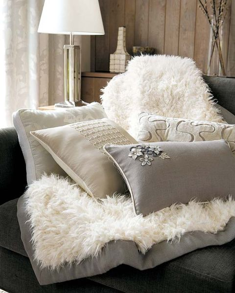 Room, Textile, Interior design, Lampshade, Cushion, Home accessories, Linens, Grey, Throw pillow, Lamp,