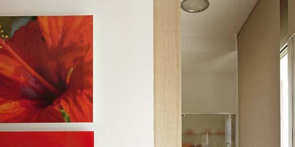 Seis puertas correderas para cocinas y ba os for Puertas correderas salon decoracion